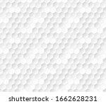 embossed hexagon grid. vector...   Shutterstock .eps vector #1662628231