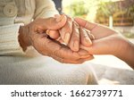 Hands Of The Old Woman And The ...