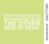 """quotes """" everything you've ever ...   Shutterstock .eps vector #1662777484"""