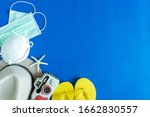 travel accessories  hat  camera ... | Shutterstock . vector #1662830557