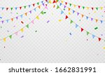 flag confetti party colorful... | Shutterstock .eps vector #1662831991