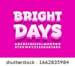 vector creative banner bright... | Shutterstock .eps vector #1662835984