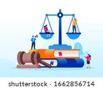 legal law justice service... | Shutterstock .eps vector #1662856714