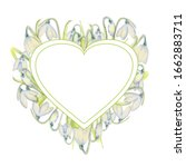 Romantic Spring Frame With...