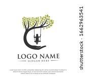 child care.tree logo.modern... | Shutterstock .eps vector #1662963541