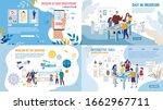 art museum smartphone... | Shutterstock .eps vector #1662967711