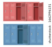 school locker vector design...   Shutterstock .eps vector #1662996151