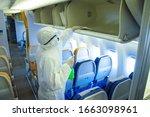 Coronavirus   Airline Interior...