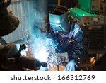 welding   Shutterstock . vector #166312769