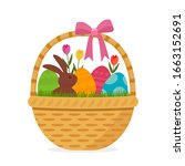Festive Easter Basket With A...