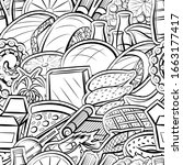 american food  fruits  japanese ... | Shutterstock .eps vector #1663177417