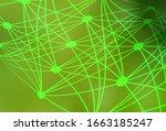 light green  yellow vector... | Shutterstock .eps vector #1663185247
