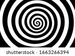 black and white tunnel texture... | Shutterstock .eps vector #1663266394