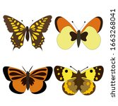 Vector  Isolated  Set Of Brown...