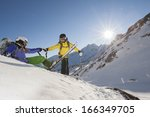 A Ski Guide Help His Student B...