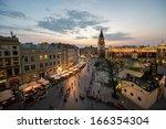 Krakow Market Square  Poland A...