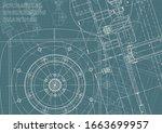 engineering. mechanical... | Shutterstock .eps vector #1663699957