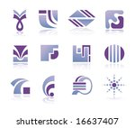set of design elements. | Shutterstock . vector #16637407