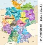 germany high detailed vector...   Shutterstock .eps vector #1663766167