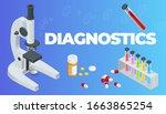 isometric online medical... | Shutterstock . vector #1663865254