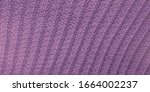 Knit Textures. Violet Sweater....
