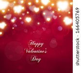 valentine's day background with ...   Shutterstock .eps vector #166405769