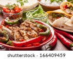 traditional mexican food ... | Shutterstock . vector #166409459
