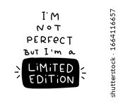 self confidence quote vector... | Shutterstock .eps vector #1664116657