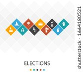 elections trendy ui template...