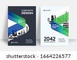 corporate book cover design... | Shutterstock .eps vector #1664226577