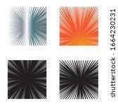 set speed line comic logo ...   Shutterstock .eps vector #1664230231
