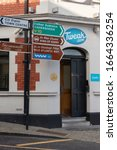 Small photo of Killorglin, County Kerry, Ireland. 05 February 2020. The Tweak Head Office and headquarters in Lower Bridge Street. The Tweak technology is popular provider for template choices for designers.