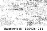 worn down wallpaper pattern...   Shutterstock .eps vector #1664364211
