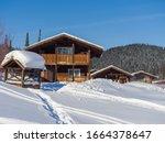 Alpine Village In The Ski...