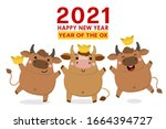 happy chinese new year greeting ...   Shutterstock .eps vector #1664394727