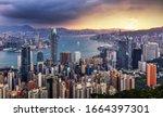 Dramatic Sunrise Of Hong Kong ...