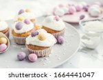 Glazed Easter Cupcakes...