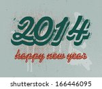 2014 happy new year banner | Shutterstock . vector #166446095