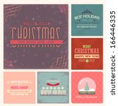 christmas badge  tags  labels ...   Shutterstock .eps vector #166446335