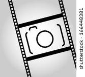 camera icon illustration | Shutterstock .eps vector #166448381