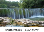 """waterfall on the river """"the vis""""... 