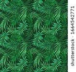 seamless animal spot textured... | Shutterstock . vector #1664542771