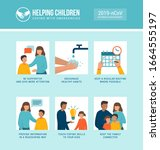 helping kids and families... | Shutterstock .eps vector #1664555197