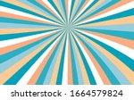 sunshine background vector.... | Shutterstock .eps vector #1664579824