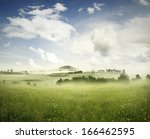 Beautiful Meadow Of Grass In...
