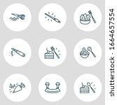 vector illustration of 9...   Shutterstock .eps vector #1664657554
