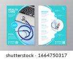 corporate healthcare cover ... | Shutterstock .eps vector #1664750317