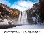 Magnificent Skogafoss Waterfal...