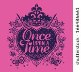 once upon a time | Shutterstock .eps vector #166486661