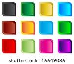 modern web buttons | Shutterstock .eps vector #16649086